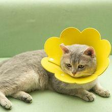 Cone Anti-Bite Kitten for Puppy Flower-Shaped Elizabethan-Collar Protective Cat-Recovery-Collar