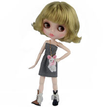 Кукла neo blyth на заказ шарнирная кукла nbl с блестящим лицом