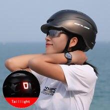 Велосипедный шлем для езды на велосипеде с usb зарядкой задний