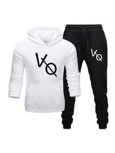 Men Tracksuit Hoodies Two-Pieces-Set Brand Clothes Sportswear Fashion New Hot Autumn