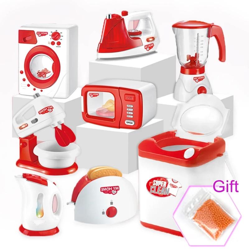 Kitchen Toys Simulation Home Appliances Pretend Play Children S Play Kitchen Set Blender Coffee Machine Girl Kids Toys Kitchen Toys Aliexpress