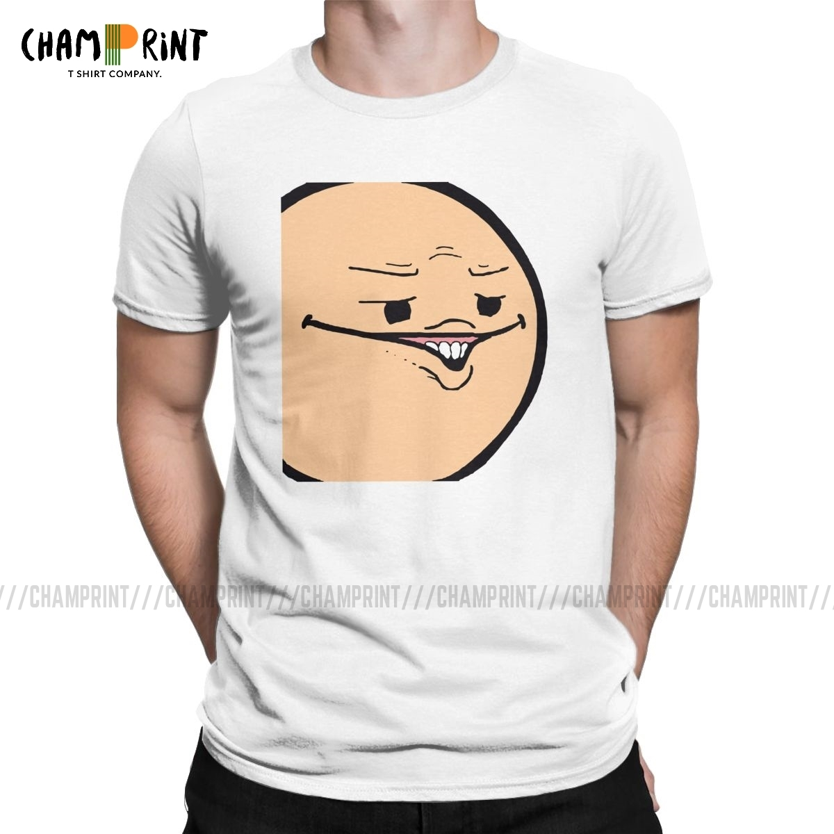 The Cyanide & Happiness Show Men T Shirt Creative Tees Short Sleeve O Neck T-Shirt Pure Cotton 4XL 5XL 6XL Clothing image