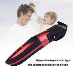 Image 2 - 4 30mm elektryczna maszynka do strzyżenia włosów wodoodporna maszynka do włosów bezprzewodowa ścinanie włosów maszyna Barbershop Professional Haircutter Kids Adult