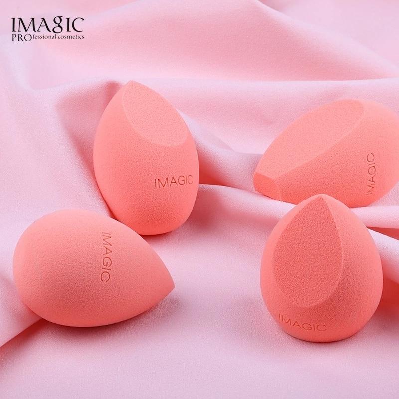 IMAGIC 6 стилей косметическая губка для красоты яйцо сухая и влажная губка для пудры инструменты для макияжа косметическая губка для тональног...
