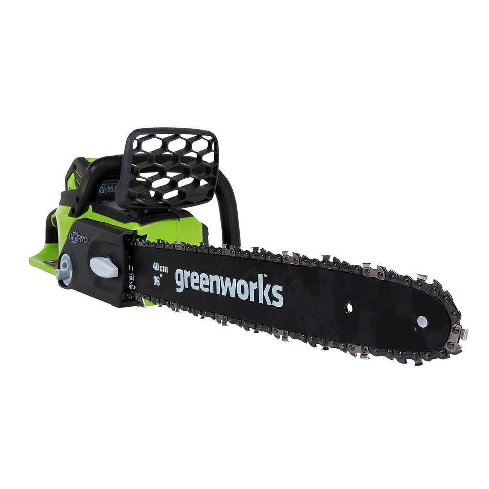 Charger Return Greenworks 20312 0ah Free Chain Battery 0Ah Brushless Motor 4 And Chainsaw Saw 4 40v Cordless With
