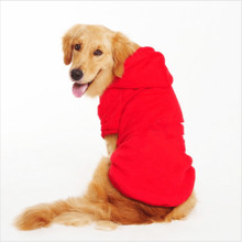 Hot Sale Spring Autumn Pet Coat Hoodie Sportswear Large Dog Clothes Sweater Golden Retriever Jacket Clothing Costume