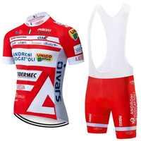 2020 Orange VINI radfahren TEAM jersey 20D bike shorts anzug Ropa Ciclismo herren sommer quick dry PRO fahrrad Maillot Hosen kleidung