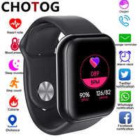 Reloj inteligente para hombres y mujeres, Monitor de presión arterial, reloj inteligente, Monitor de oxígeno, frecuencia cardíaca, recordatorio WhatsApp, reloj inteligente para Android IOS