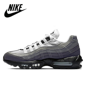 Оригинальная Черная Спортивная обувь для мужчин Nike Air Max 95 OG дышащая Спортивная обувь для бега на открытом воздухе Удобная size40-45