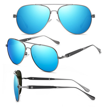 AOFLY BRAND DESIGN Pilot Sunglasses Men Polarized Metal Frame Anti-Glare Mirror Lens 2020 Fashion Fishing Sun Glasses Male UV400 6
