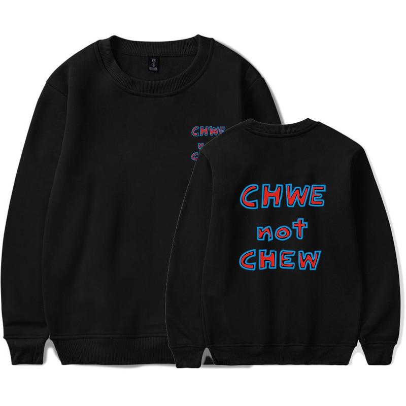 KPOP SEVENTEEN 17 CHWE Not CHEW Hoodies Women Men Fall Winter Long Sleeve Sweatshirt Hoodie Fashion Plus Size Tracksuit Clothes
