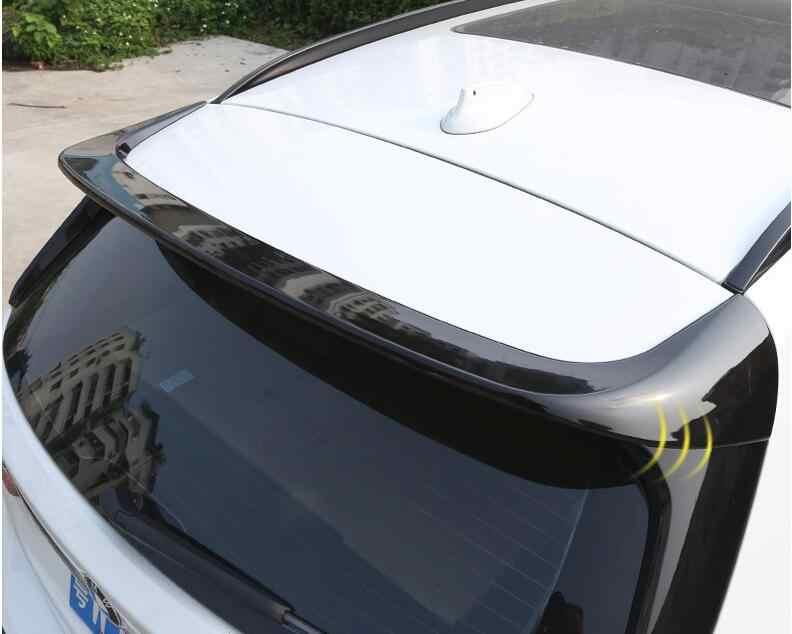 עבור BMW X1 F48 ספוילר 2017-2019 BMW 1 סדרת hatchback ABS חומר רכב אחורי אגף פריימר צבע אחורי ספוילר עבור BMW X1 ספוילר