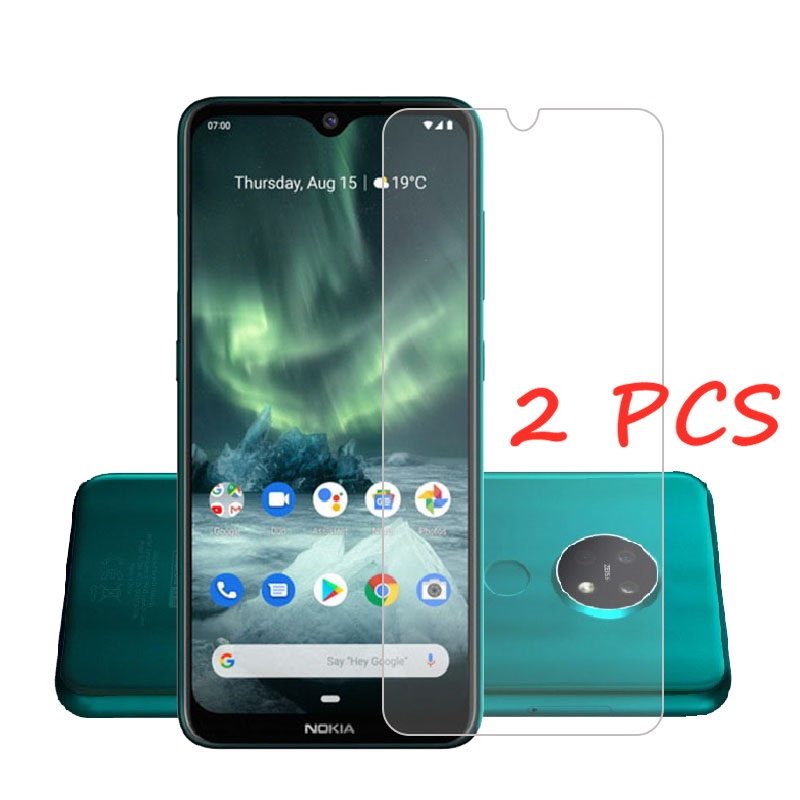 Для Nokia 7,2 стекло для Nokia 7,2 6,2 5,3 3,4 2,4 Закаленное стекло Защитная пленка для экрана Nokia 7,2 защитная пленка