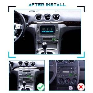 Image 2 - PX6 2 الدين الروبوت 10 راديو السيارة لفورد مونديو S ماكس التركيز C MAX غالاكسي فييستا العبور فيوجن ربط كوغا 2DIN السيارات الصوت GPS