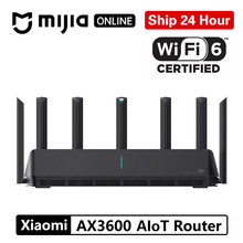 Xiaomi AX3600 AIoT Router Wifi 6 5G WPA3 Wifi6 600Mb Dual-Band 2976Mbs Gigabit Rate Qualcomm A53 módem amplificador de señal externa(China)