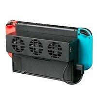 Dobe Lüfter Kühler Für Nintendo Switch Game Konsole DC 5V USB Kit Fan Zubehör Unterstützung Befehl Belüftung Kälte