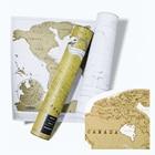 2PCS World Map Engli...