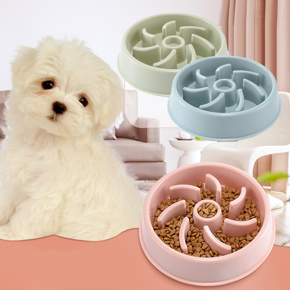 PP Durable Anti-Gulping Pet Feeder Bowl Slow Feeding Interactive Bloat Stop Cat Dog Food Dispenser Pet Products Dog Gamelle Chat