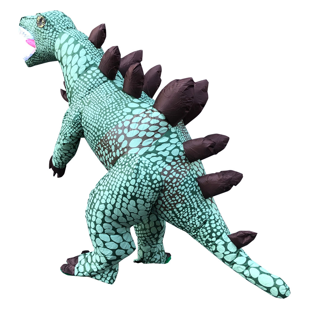 Image 2 - Adult Inflatable Costume Dinosaur Costumes T REX Blow Up Fancy Dress Mascot Cosplay Costume For Men Women Kids Dino CartoonParty DIY Decorations   -