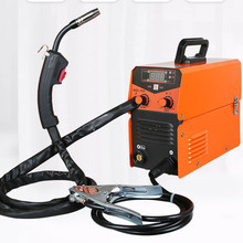 Carbon dioxide gas shielded welding machine, 220v household without gas welding machine