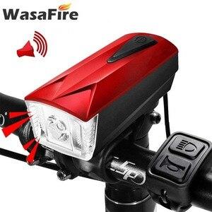 Светодиодный светильник для велосипеда, велосипедный фонарь с дистанционным управлением, перезаряжаемый от USB