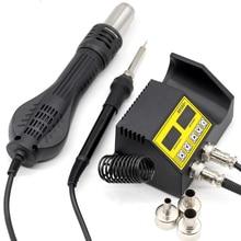 Переработанная паяльная станция 8586D SMD BGA, воздуходувка горячего воздуха, тепловая пушка, Интеллектуальное обнаружение, сварка холодным воздухом, паяльник, Ремонтный инструмент