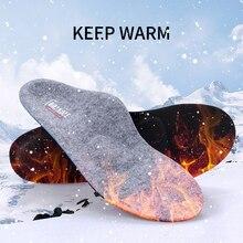 Platvoeten Orthopedische Inlegzolen Arch Ondersteuning Orthotics Winter Warm Verwarmde Wol Schoen Inserts Voor Fasciitis Plantaris Verlichten Voet Pijn