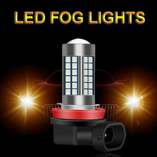 2 шт h8 h11 h3 hb4 9006 hb3 9005 туман светильник s лампы 1200lm