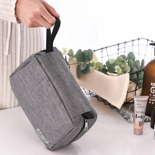 Men Women Hanging Cosmetic Bag Multifunction Travel Organizer Toiletry Wash Make up Storage Pouch Beautician Folding Makeup Bag 2