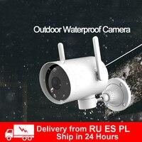 2020 Xiaomi наружная камера водонепроницаемая IP66 WIFI умная веб-камера 270 угол 1080P ip-камера двойная антенна сигнал ночного видения для MiHome