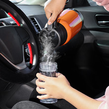 Car-Accessories Heating-Cup Water-Kettle Vehicle Steel-Cups Electric 1000ml 12V