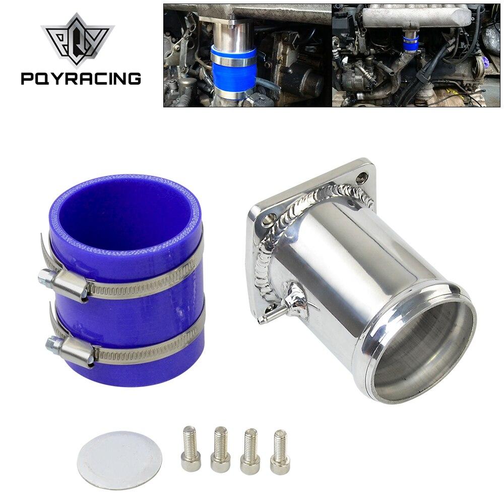 Pqy-Billet Aluminium Voor Mercedes OM606 Egr Verwijderen Egr Klep Blanking Plaat Verwijdering Ultieme Egr Verwijderen Kit PQY-EGR13
