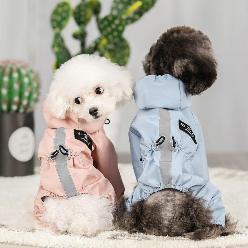 Одежда для собак Водонепроницаемая модная куртка для собак больших собак бульдог Чихуахуа собачий плащ светоотражающий Регулируемый комбинезон для животных|Комбинезоны и ромперы|   | АлиЭкспресс - Тёплое для хвостатых