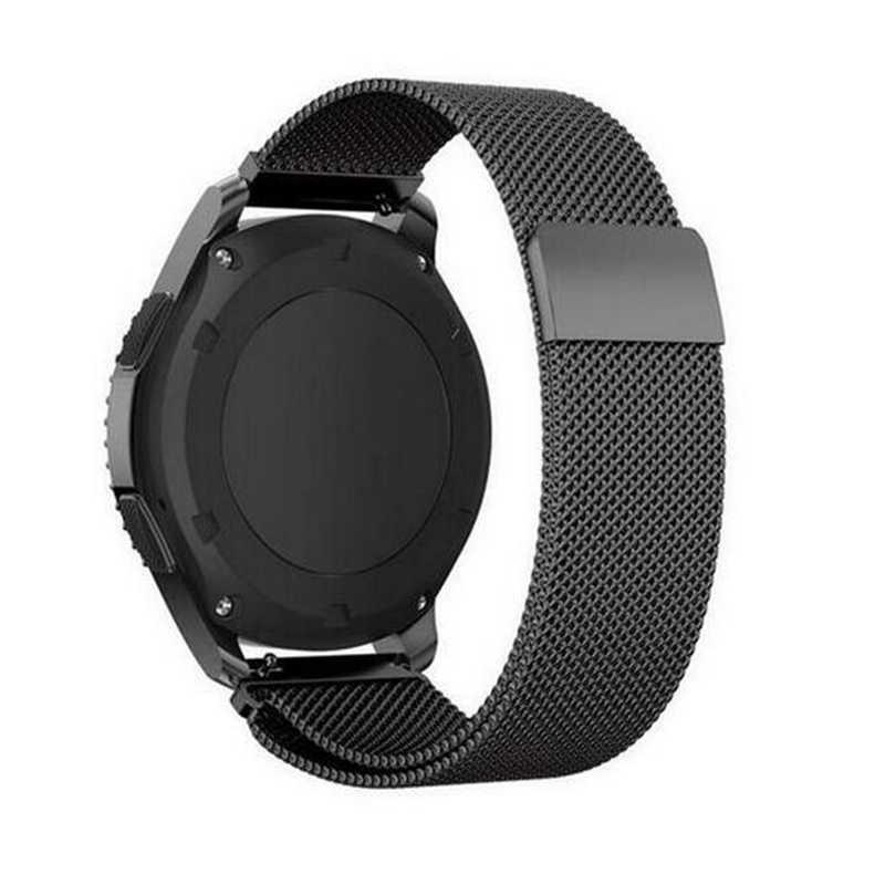 22mm 20mm para Samsung Gear deporte S2 S3 frontera Banda Clásica huami amazfit bip Correa huawei GT 2 galaxy watch activa 42 46mm