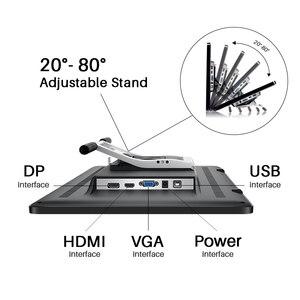 Image 2 - Kamvas pro 20 2019 versão com inclinação gráficos tablet monitor 8192 leverls pressão sensibilidade caneta exibição desenho tablet
