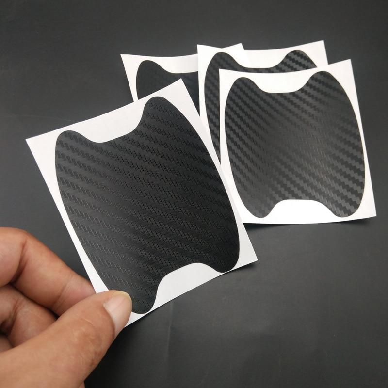 4 car door handle protective film 3D car sticker for Chery Tiggo Fulwin A1 A3 QQ E3 E5 G5 V5/EMGRAND EC7 EC7-RV EC8(China)