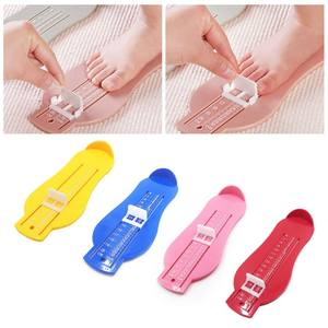 Scale Baby-Feet Growth-Process Ruler Measuring-Instrument Record Shoe-Size Adjustable