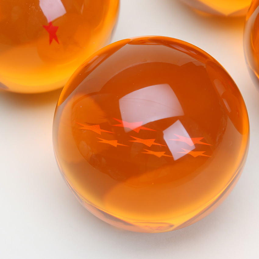 Bola de cristal de 6,5 7 cm aprox.