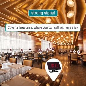 Image 5 - Приемник хост Retekess TD105 999CH + 10 шт., кнопка вызова T117, пейджер для ресторана, система вызова официанта, вызов в клиентскую службу, кафе