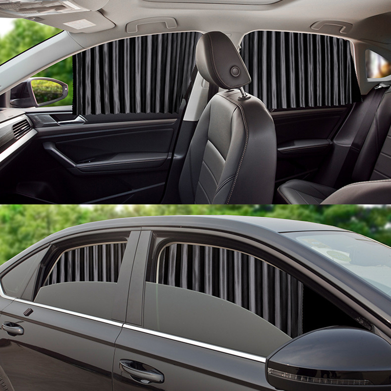 Magnetic Car Window Sunshade Cover Curtain UV Protection Window Shade Curtain Side Universal For Children   Auto Sun Shade Cover