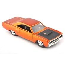 Jada Diecast 1/32 Fast & Furious Oranje Voertuigen Auto Model 1970 Plymouth Runner Collection Gift