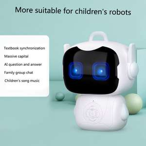 Toy Robot Intelligent Voice-Controlled Smart Touch-Sensor Teacher Early-Education-Toys