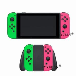 Image 5 - IVYUEEN 닌텐도 스위치 NS JoyCon 조이 콘 컨트롤러 교체 하우징 쉘 케이스 NintendoSwitch 녹색 보라색 커버