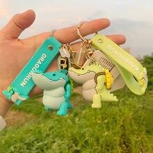 Брелок для ключей из мягкого пластика ПВХ с изображением толстой