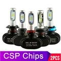 2pcs H11 H4 H7 Led 12V Mini 9005 9006 Headlights Lamp 8000Lm High Brightness H8 H9 Hb3 Hb4 Led Car Lights Bulbs Turbo Csp