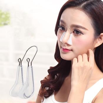 Массажер для красоты носа и похудения, инструмент для выпрямления, моделирования, формирования ортопедической клипсы, корректор носа Устройство для ухода за кожей лица      АлиЭкспресс