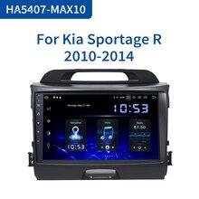 Dasaita Radio con GPS para coche, Radio con reproductor, de 9 pulgadas pantalla IPS, Android 10,0, Bluetooth, navegador, Audio, para Kia Sportage R 2013 2014 2015 2016