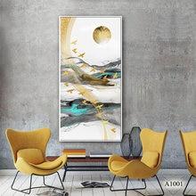 Современная абстрактная картина маслом печать на холсте пейзаж