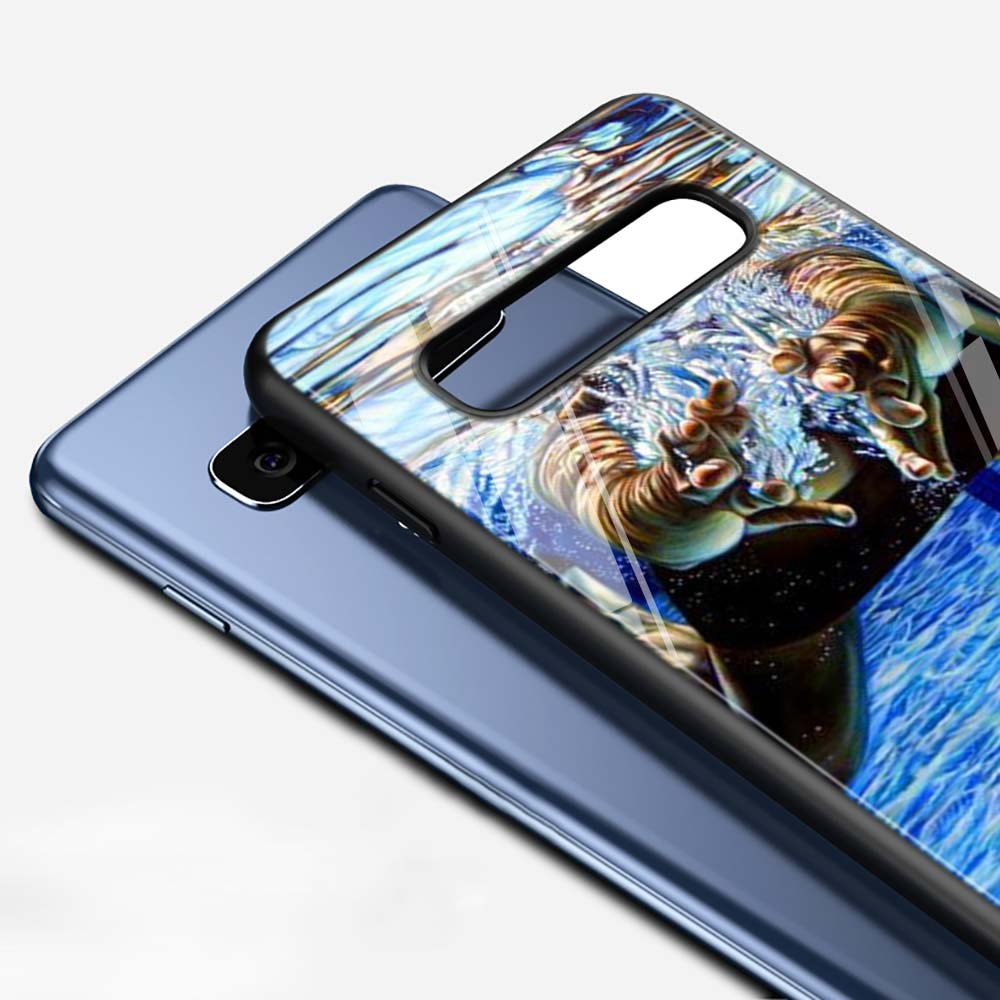 Michael Phelps Swimming for Samsung Galaxy Note 10 9 8 Pro S10e S10 5G S9 S8 S7 Plus Super Bright Glossy Phone Case Cover in Fitted Cases from Cellphones Telecommunications