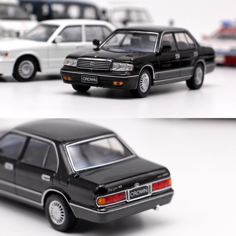 Original High Simulation CROWN  JZS133L, 1: 43 Scale Alloy Car Model, Metal Casting Children's Toy Vehicle, Free Shipping